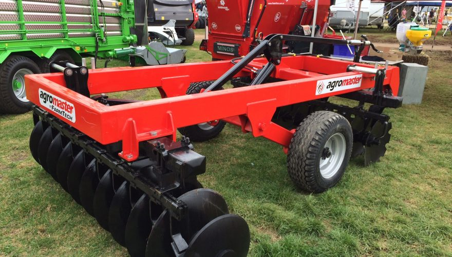 offset heavy disc harrow