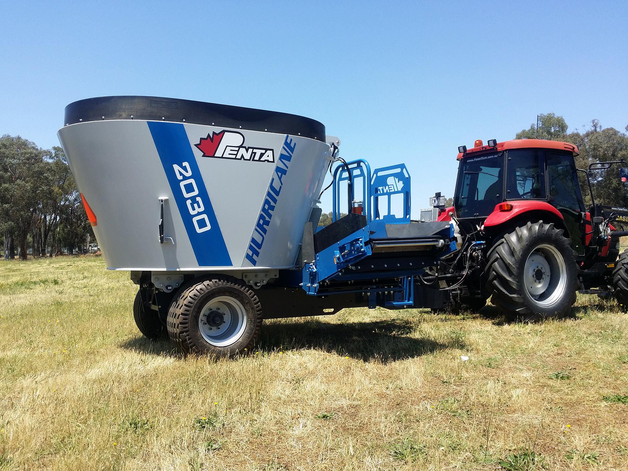 Penta 2030 TMR Feed Mixer | Farmtech Machinery
