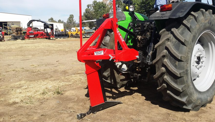 single tine subsoiler