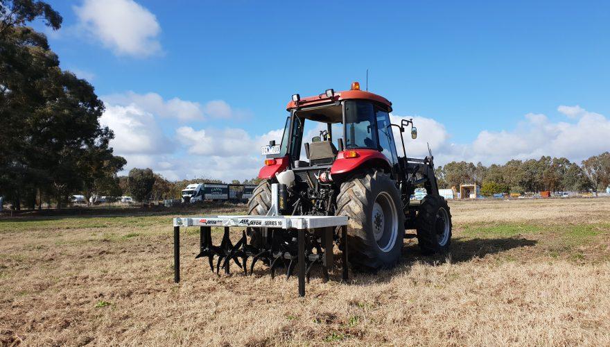 Soil aeration farmtech