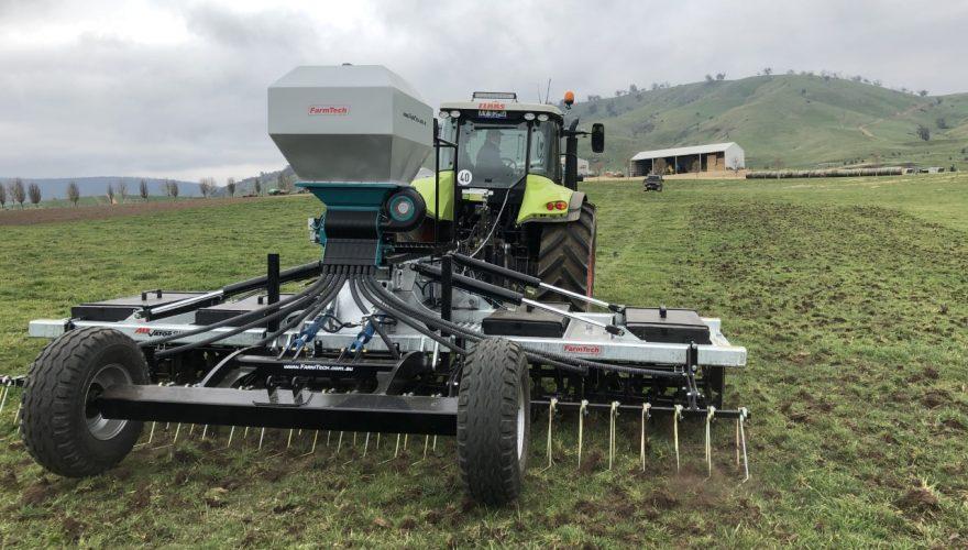 Farntech Tractor Aerator