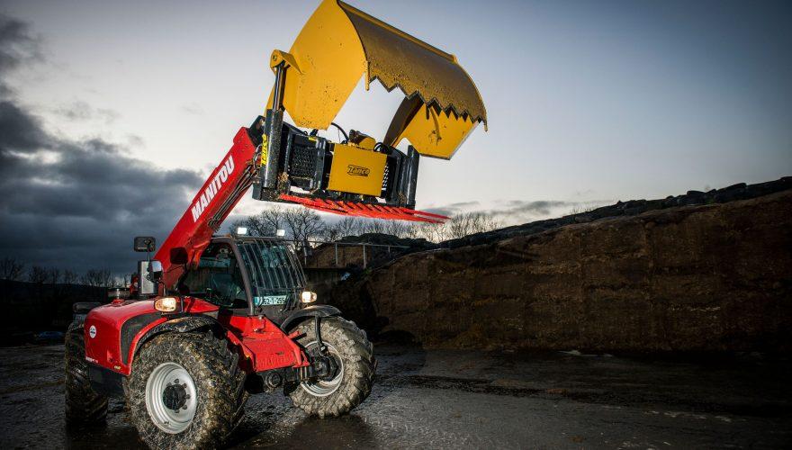Silage handling equipment FarmTech